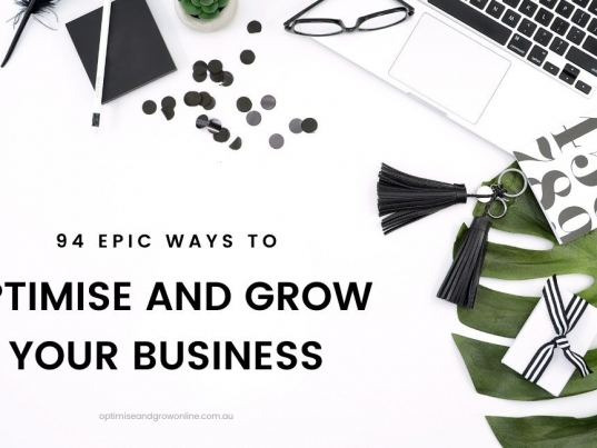 94 ways to optimise and grow business