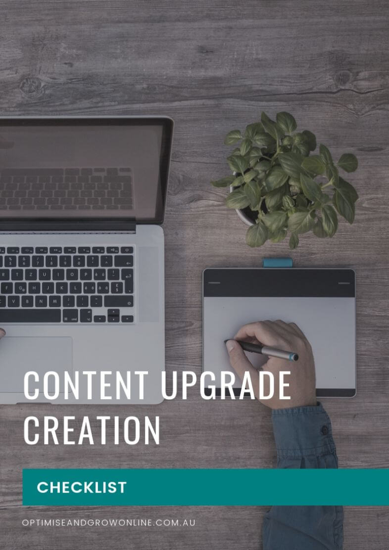 Content Upgrade Creation Checklist