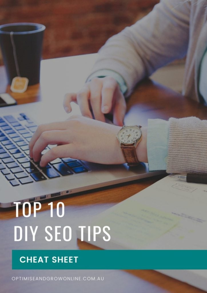 Top 10 DIY SEO Tips