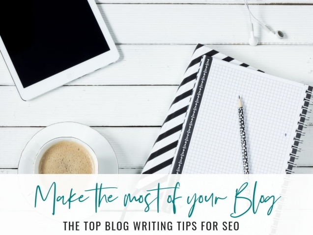 Top Blog Writing Tips for SEO