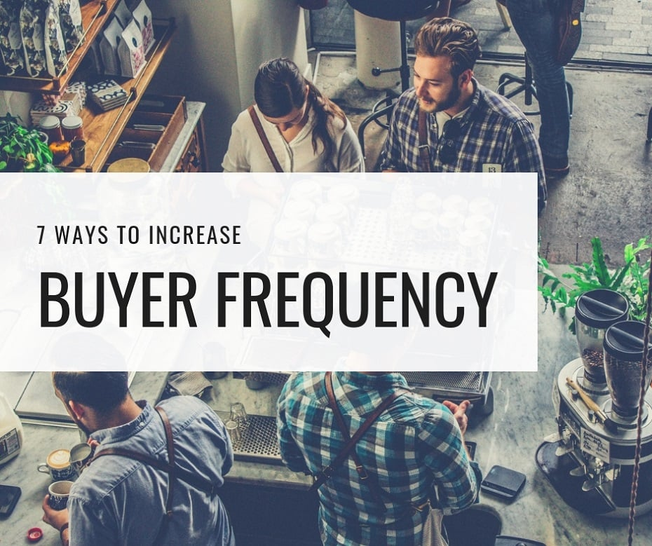increase buyer frequency