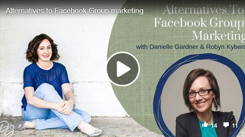 organic marketing without Facebook Groups