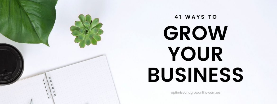 ways to grow your business in 2020