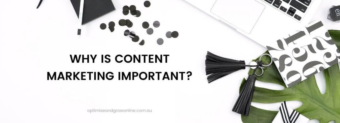why is content marketing important section title banner
